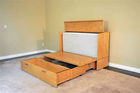 transforming bed stanley cabinet bed cabinet by day bed by night