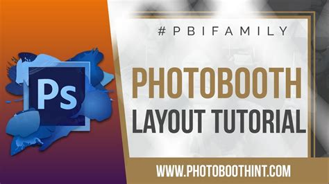 photo booth layout photoshop photo booth layouts photoshop tutorial social booth