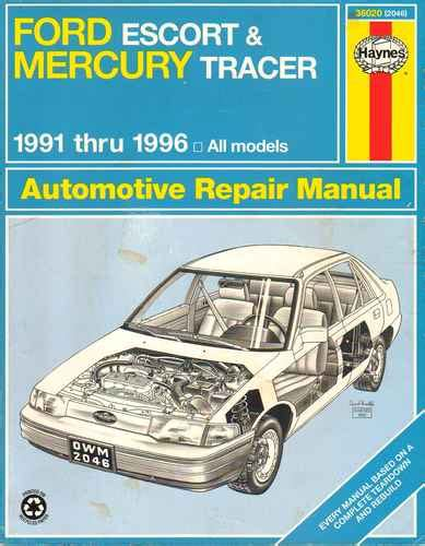 online car repair manuals free 1996 ford escort user handbook service manual download 1996 ford escort owner 1991 1996 ford escort mercury tracer service