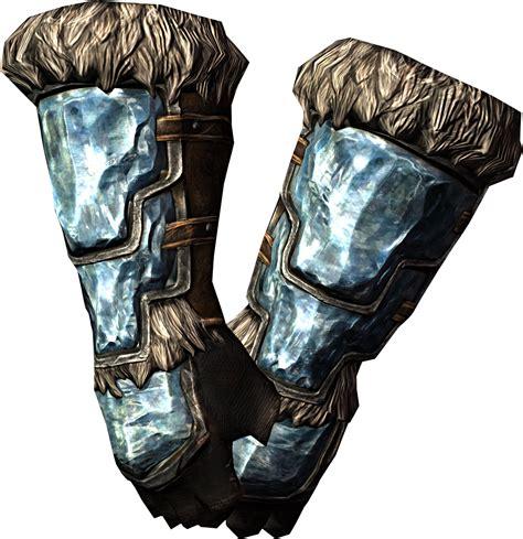 Stalhrim Light Armor by Stalhrim Light Bracers The Elder Scrolls Wiki