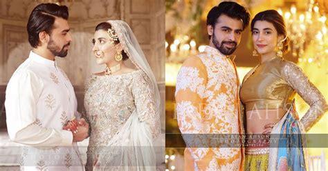 urwa hocane  farhan saeed wedding pictures buzzpk