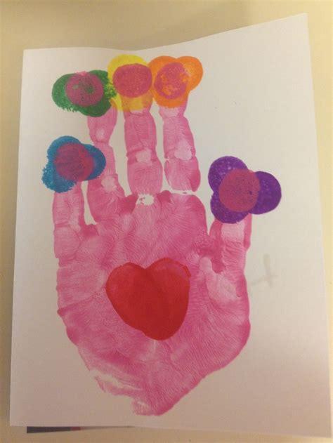 card handprint s day handprint card s day