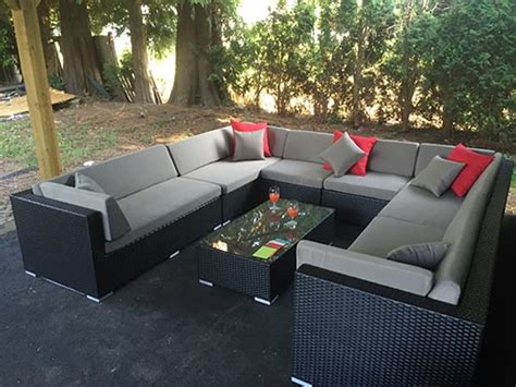 u shaped outdoor sectional canada easy imports patio furniture sets in the fraser valley