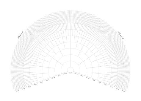 fan chart family tree template