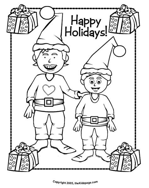 free coloring pages happy holidays happy holidays free coloring pages for kids printable