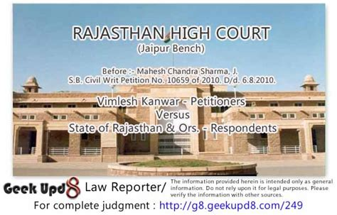 rajasthan high court jaipur bench when the criminal proceedings for investigation under