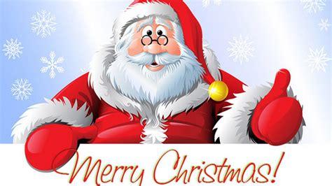 santa claus merry christmas greeting card   year  wallpaperscom