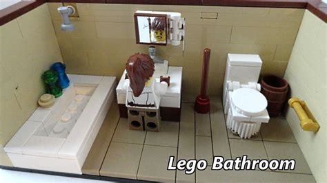 tutorial lego bathroom how to make minecraft bathroom minecraft tutorial how to