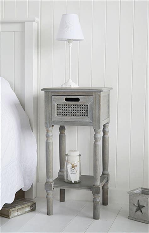 british colonial furniture range  grey lamp table