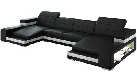 black sectional with chaise black double chaise sectional prefab homes double