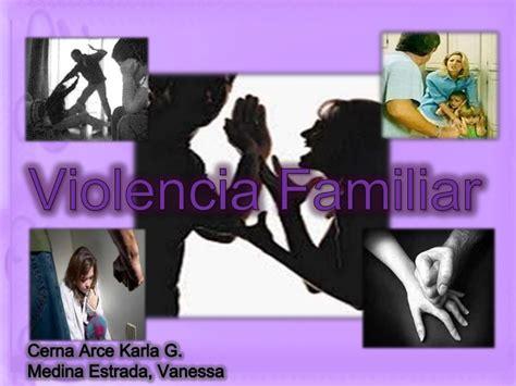 imagenes sobre la violencia familiar violencia familiar
