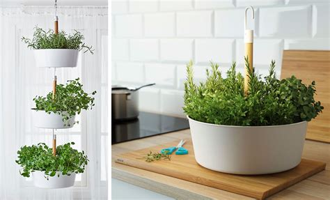 wall planters indoor ikea 53 indoor garden idea hang your plants from the ceiling