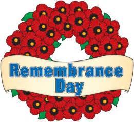 Webpage clip art belliveau remembrance day header
