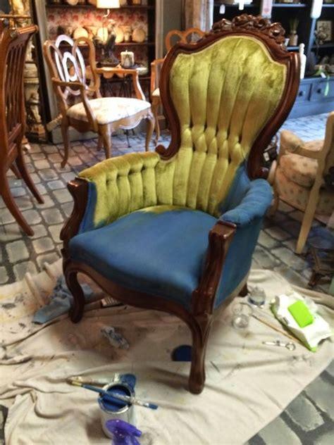 chalk paint velvet aubusson blue chalk paint 174 by sloan on a velvet