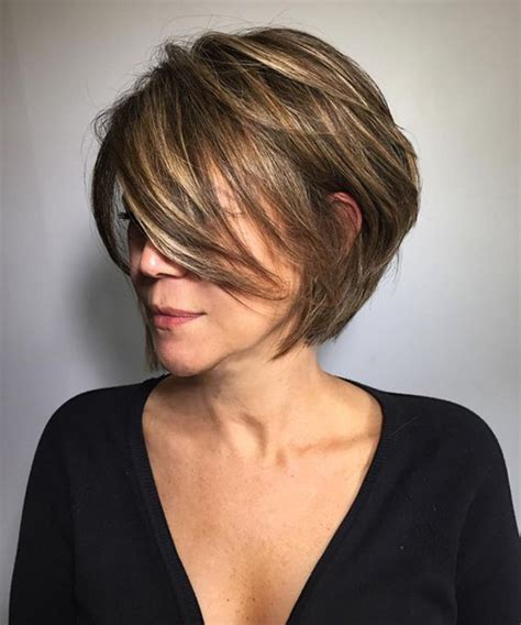 medium hairstyles over 40 beautiful short layered hairstyles for women over 40