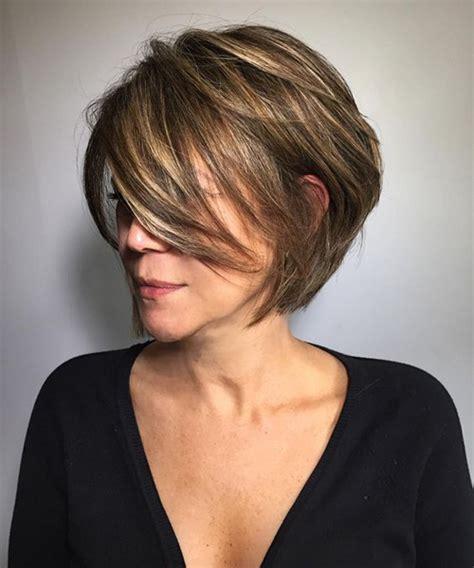 short layered hairstyles women beautiful short layered hairstyles for women over 40