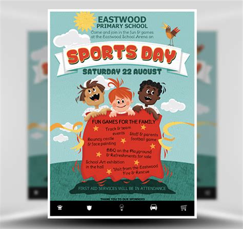 sports day poster template lovely theme for poster neuernoberlin