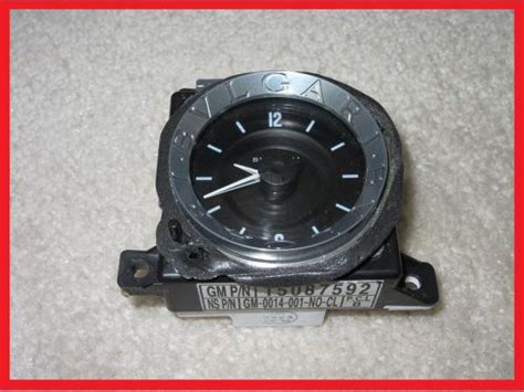 book repair manual 2005 cadillac escalade esv instrument cluster buy 2003 2004 2005 2006 cadillac escalade esv ext dash clock bvlgari gm p n 15087592 motorcycle