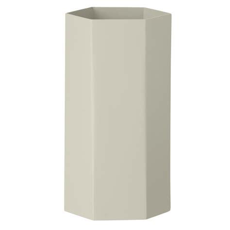 ferm living vase ferm living hexagon vase vaas grijs flinders verzendt gratis