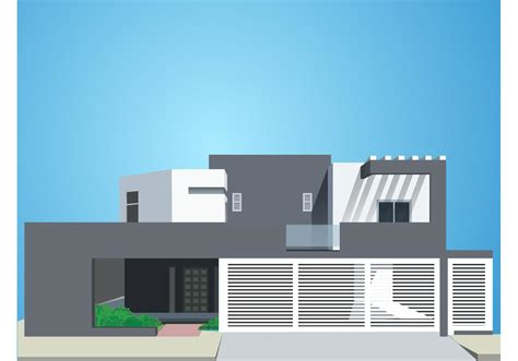 modern home design vector house free vector art 9251 free downloads