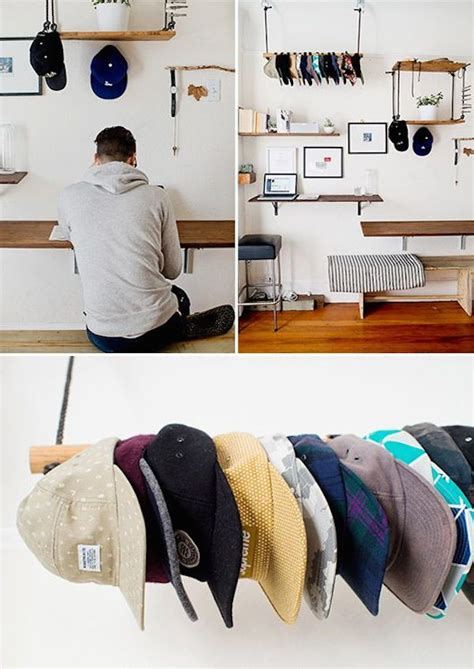Hat Closet by 18 Hat Organizing Ideas For Summer