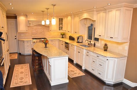kitchen island with corbels decorative glazed cabinets marlboro nj by design line kitchens