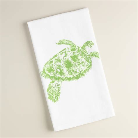 Flour Sack Kitchen Towels by Turtle Flour Sack Kitchen Towels Set Of 2 World Market