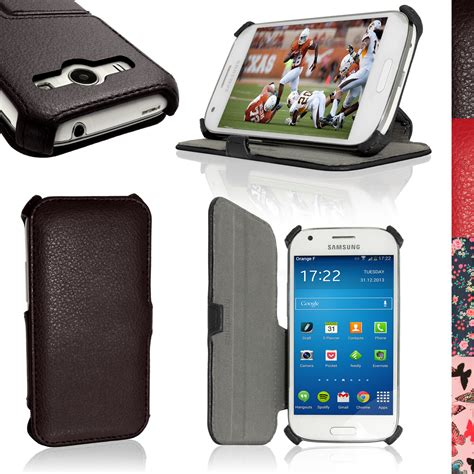 Flipcase Book Stand Flip Cover Casing Samsung Galaxy Note 80 pu leather flip for samsung galaxy ace 4 sm gt357fz stand book folio cover ebay