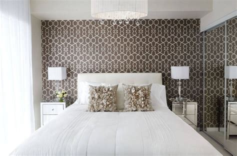 20 Ways Bedroom Wallpaper Can Transform The Space Wallpaper Design For Bedroom