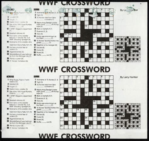 can print usa today crossword wwf superstars wrappers from 1991 collectingcandy com