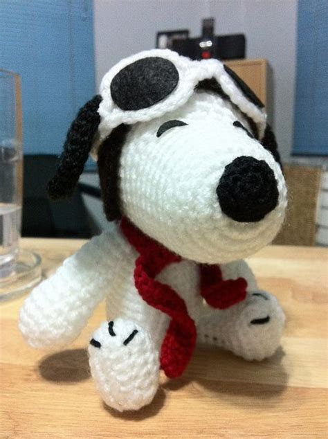 amigurumi snoopy pattern pilot snoopy i made for my friend malo pattern from www