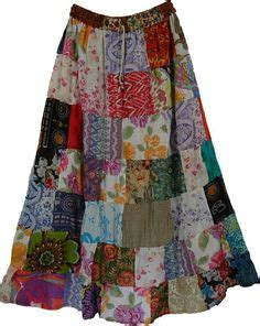 Patchwork Apparel - 1000 ideas about patchwork skirts on denim