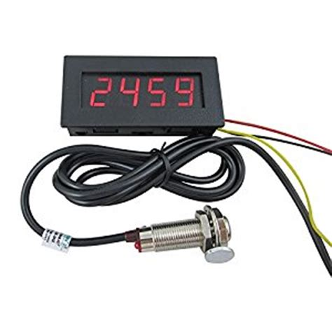 Digital Tachometer Contact Motor Rpm Meter Smart Sensor Ar925 digiten 4 digital led tachometer rpm speed meter proximity switch sensor npn