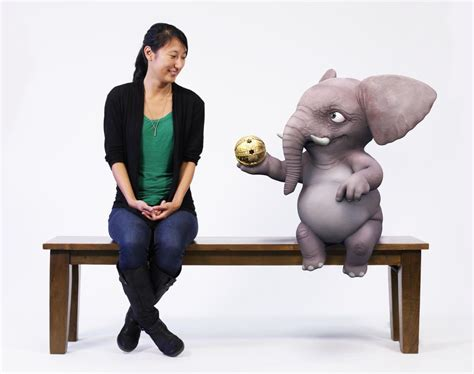 what is bench research disney s magic bench lets you hang with a cartoon elephant