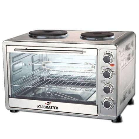 anafe y horno electrico horno electrico kacemaster 60 litros con anafe doble