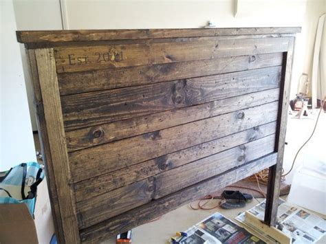 rustic barnwood headboard by cr3ationsbydezi on etsy 225