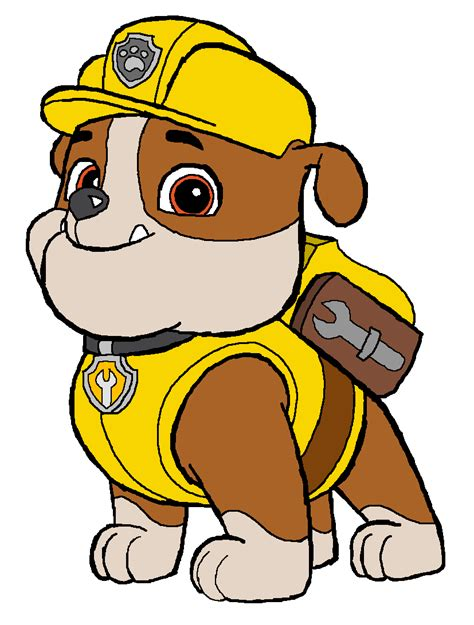 puppy paw patrol paw patrol images rubble construction pup hd wallpaper and background photos