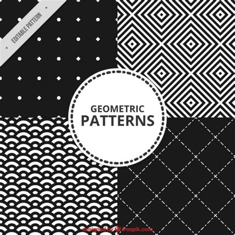 black and white geometric pattern vector free geometric patterns in black and white vector free download