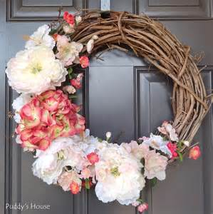 how to make a spring wreath for front door top posts of 2014 puddy s house