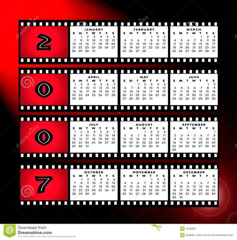 Z Calendario 2007 Calendario 2007 Con El Marco De La Tira De La Pel 237 Cula