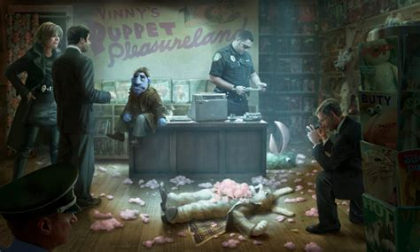 Murder In Time the happytime murders is a filthy r puppet