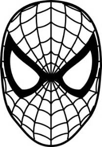 spiderman face logo spiderman mask clipart 23424wall jpg