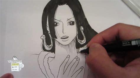 How To Draw Boa Hancock