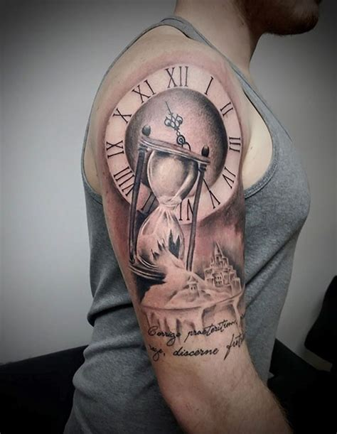 compass hourglass tattoo the meaning of a hourglass tattoo inkdoneright