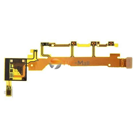 Flexibel Power Volume Swith Tombol Sony Xperia Sp C5302 side buttons power on volume mic flex cable for sony xperia z c6603 l36h tvc mall