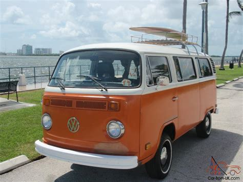 1974 Volkswagen Bus California Surfer Van Unrestored