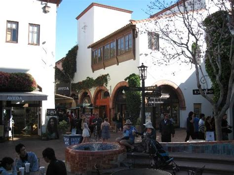 rubber st stores by state mall courtyard picture of state santa barbara