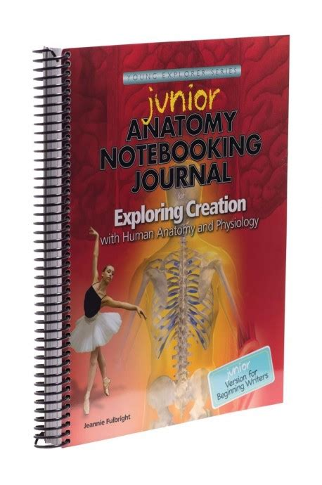junior bridesmaid writing journal books exploring creation with human anatomy and physiology