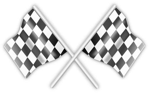 Checkered Flag L by Checkered Racing Flags Clip At Clker Vector Clip