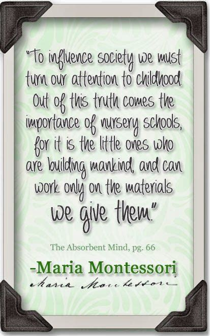 printable montessori quotes 36 best montessori inspiration images on pinterest maria